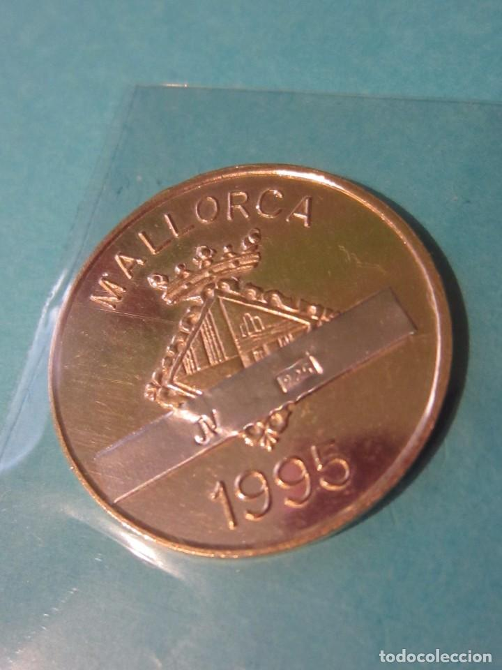 Medallas temáticas: Medalla Capitan Antonio Barcelo . Plata 925 contrastes. Mallorca. - Foto 2 - 102439491
