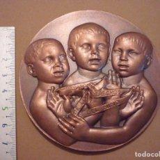 Medallas temáticas: MEDALLA AÑO INTERNACIONAL DE LOS DERECHOS DEL NIÑO 1979 . Lote 102518463
