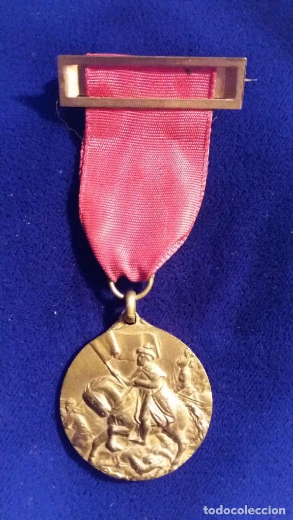 CONDECORACION ESCOLAR SANTIAGO MATAMOROS, 1964-65 (Numismática - Medallería - Temática)