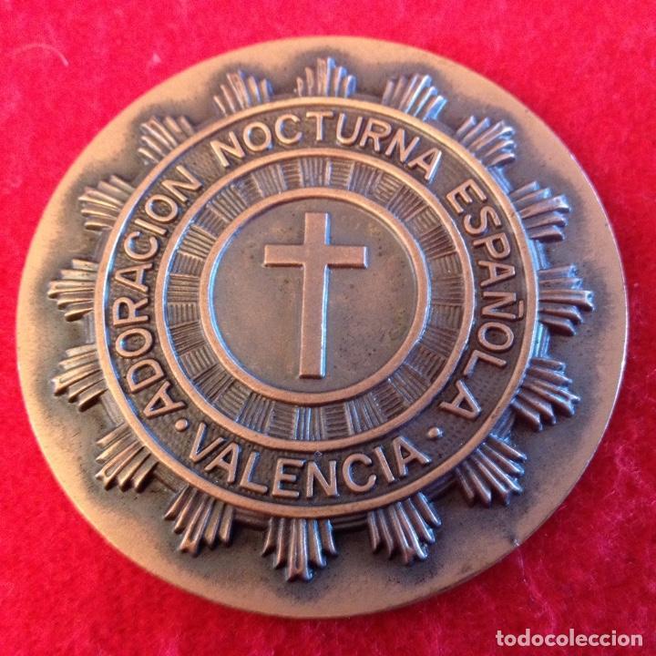 Medallas temáticas: Medalla del I centenario 1880-1980 de la adoración nocturna española, Valencia - Foto 2 - 103285207