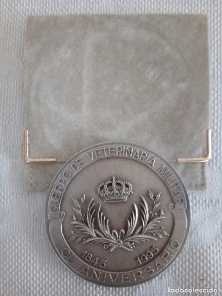 Medallas temáticas: MEDALLA DEL CUERPO DE VETERINARIA MILITAR - 150 ANIVERSARIO 1845 / 1995. - Foto 5 - 104258707