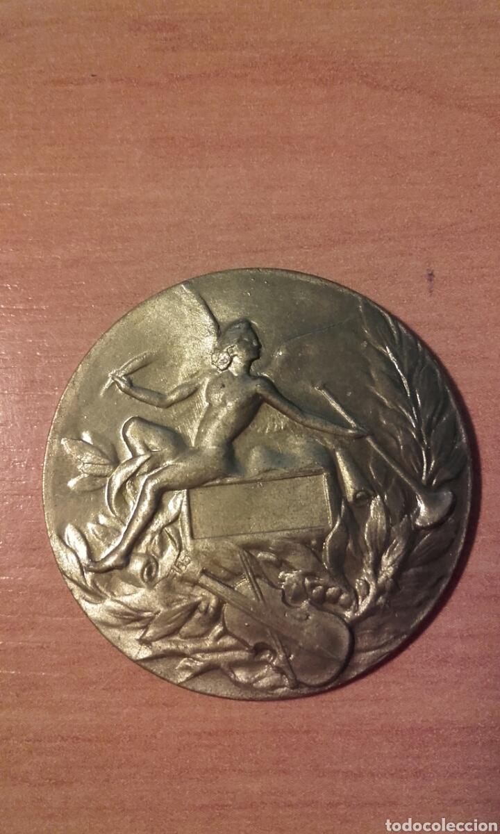 Medallas temáticas: CAJA 153 - MEDALLA DE LAS ARTES 3.5 CMS DIÁMETRO - 12 gramos - reverso liso - bronce CAJA 153 - M - Foto 2 - 54825929