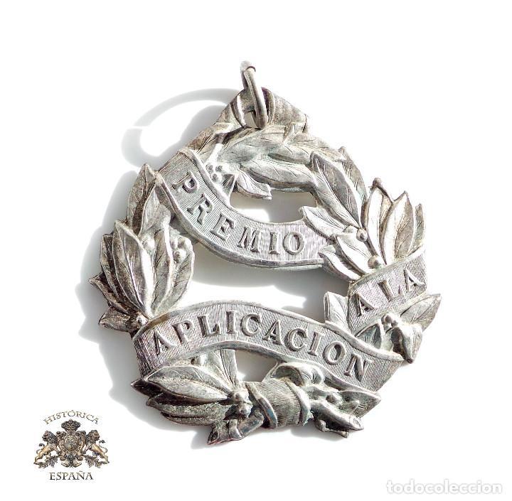 MEDALLA ESCOLAR MÉRITO A LA APLICACIÓN (Numismática - Medallería - Temática)