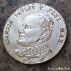 Thematic medals - BONITA MONEDA PLATA DEL PAPA JUAN PABLO II PONTIFICE MAXIMUS DEL VATICANO - 105651587
