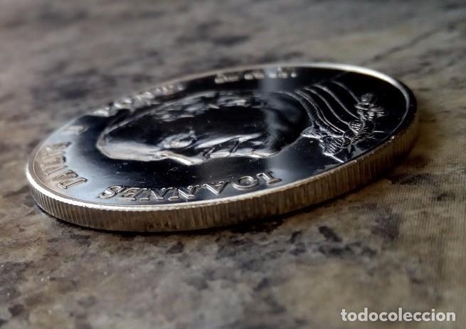 Medallas temáticas: BONITA MONEDA PLATA DEL PAPA JUAN PABLO II PONTIFICE MAXIMUS DEL VATICANO - Foto 3 - 105651587