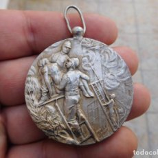 Medallas temáticas: MEDALLA DE BOMBEROS ANTIGUA. Lote 105892703