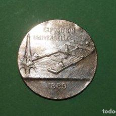 Medallas temáticas: MEDALLA DE BRONCE - EXPOSICIÓN UNIVERSAL DE PARÍS 1889 - REPÚBLICA FRANCESA - OUDINÉ - DANIEL DUPUIS. Lote 107408879