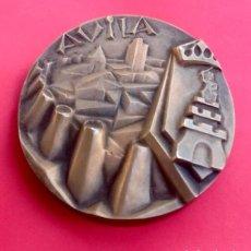 Medallas temáticas: AVILA. BRONCE FUNDIDO. ENVIO CERTIFICADO INCLUIDO EN EL PRECIO. Lote 107432839