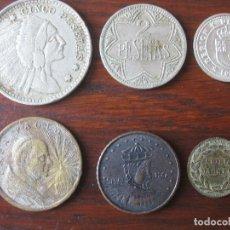 Medallas temáticas: LOTE DE FICHAS DE CASINO, TOKENS, Y MEDALLA.. Lote 107456419