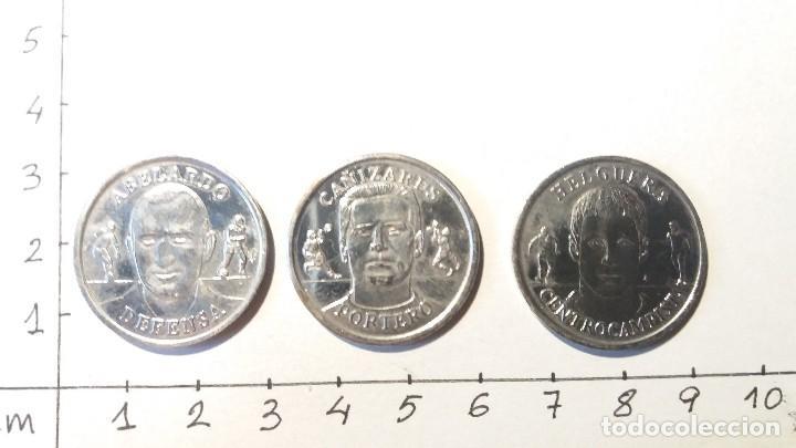 Medallas temáticas: Monedas selección de fútbol año 2000 - Foto 2 - 107574275