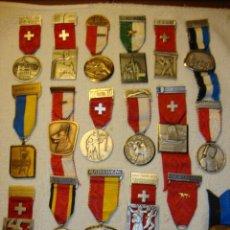 Medallas temáticas: IMPRESIONANTE COLECCION DE 120 MEDALLAS ORIGINALES TODAS EN PERFECTO ESTADO VER FOTOS. Lote 108445123