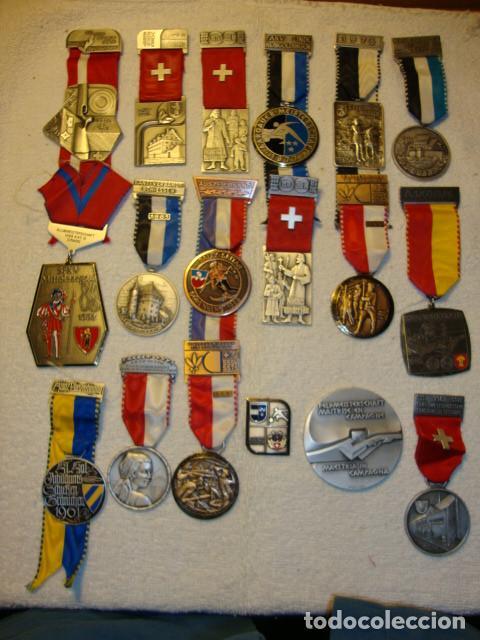 Medallas temáticas: IMPRESIONANTE COLECCION DE 120 MEDALLAS ORIGINALES TODAS EN PERFECTO ESTADO VER FOTOS - Foto 12 - 108445123
