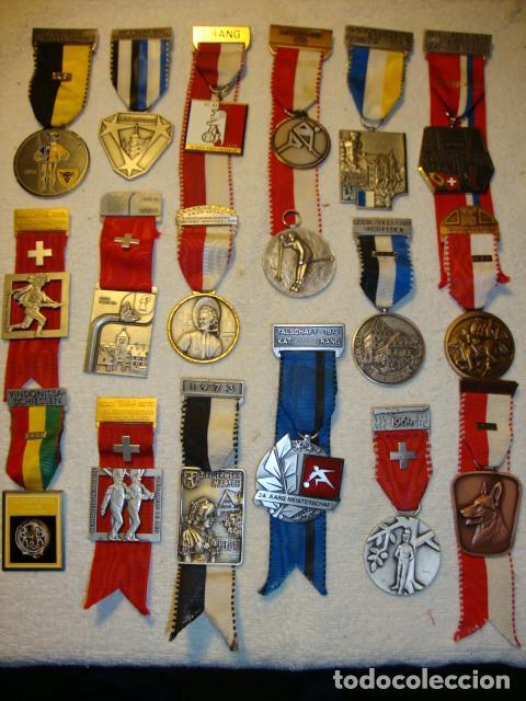 Medallas temáticas: IMPRESIONANTE COLECCION DE 120 MEDALLAS ORIGINALES TODAS EN PERFECTO ESTADO VER FOTOS - Foto 16 - 108445123