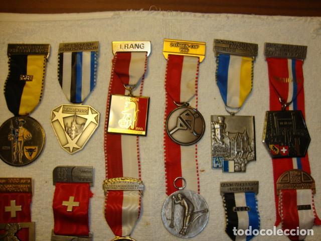 Medallas temáticas: IMPRESIONANTE COLECCION DE 120 MEDALLAS ORIGINALES TODAS EN PERFECTO ESTADO VER FOTOS - Foto 17 - 108445123
