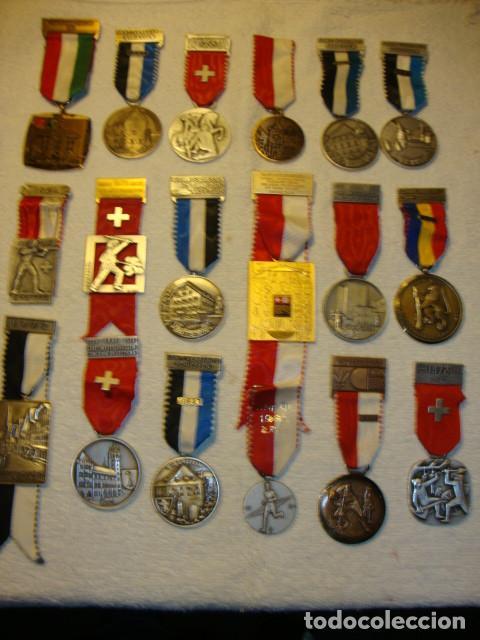 Medallas temáticas: IMPRESIONANTE COLECCION DE 120 MEDALLAS ORIGINALES TODAS EN PERFECTO ESTADO VER FOTOS - Foto 20 - 108445123