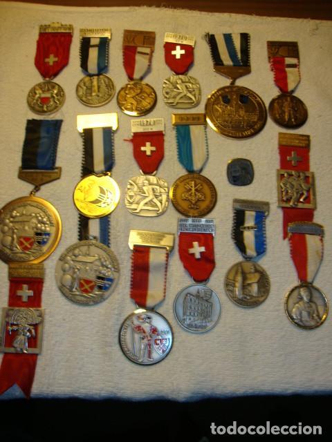 Medallas temáticas: IMPRESIONANTE COLECCION DE 120 MEDALLAS ORIGINALES TODAS EN PERFECTO ESTADO VER FOTOS - Foto 24 - 108445123