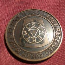 Medallas temáticas: TOKEN MASONICO. Lote 109477743