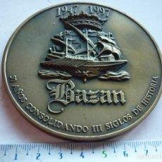 Medallas temáticas: MEDALLA DE BRONCE GRANDE BAZAN (CONSTRUCCIONES NAVALES MILITARES )50 ANIVERSARIO. Lote 109721739