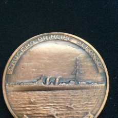 Médailles thématiques: MEDALLA 5 CM. - SALON NAUTICO DE BARCELONA - 1995 - BRONCE. Lote 110388311