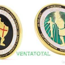 Medallas temáticas: MEDALLA ORO TIPO MONEDA HOMENAJE A LOS TEMPLARIOS - PESA 28,21 GRA - Nº2. Lote 110422835