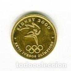Medallas temáticas: MONEDA-MEDALLA JUEGOS OLIMPICOS SIDNEY AÑO 2000. Lote 110770383