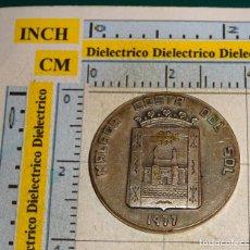 Medalhas temáticas: MEDALLA MONEDA. II CONGRESO CUERPO CONSULAR ACREDITADO ESPAÑA. COSTA SOL MÁLAGA 1977. 25 GR. Lote 110821015