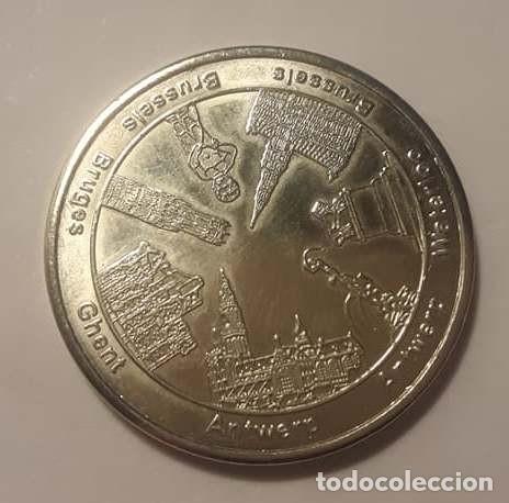 NATIONAL TOKENS BELGIAN HERITAGE (Numismática - Medallería - Temática)