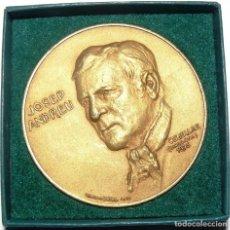 Medallas temáticas: MEDALLA DE BRONCE DE JOSEP ANDREU 'CHARLIE RIVEL'. 1970. REALIZADA POR CALICÓ. Lote 112695171