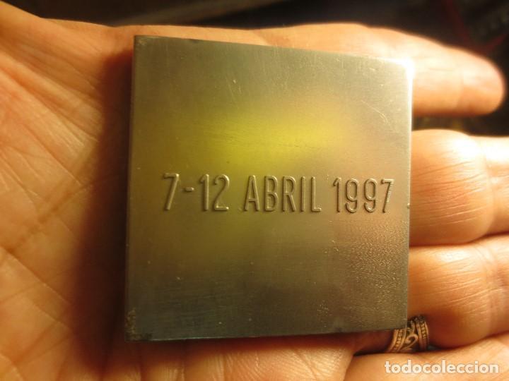 Medallas temáticas: DE ARQUITECTURA ANTIGUA MEDALLA O DISTINTIVO CONSTRUMAT BARCELONA 1997 - Foto 2 - 133213314