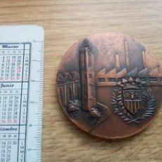 Medallas temáticas: 51 VOLTA A CATALUÑA. FINAL SABADELL 1971. Lote 128738284