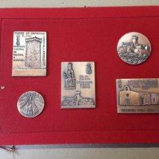 Medallas temáticas: CASTELLDEFELS MEDALLAS. Lote 114695791