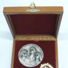Medallas temáticas: MEDALLA Y RELICARIO DE LAS BEATAS MARTIRES CARMELITAS DESCALZAS, GUADALAJARA,TERESA, MARIA ANGELES, . Lote 148146456