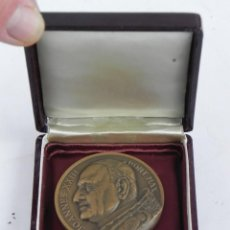 Medallas temáticas: MEDALLA DE JOANNES XXIII, PONT. MAX., TIBI DABO, CLAVES, REGNI, COELORUM, MIDE 5 CMS DE DIAMETRO, CO. Lote 115685019