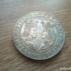 Medallas temáticas: MEDALLA DE PLATA REYES CATOLICOS CONVENCIÓN NUMISMATICA. 1975. Lote 116551223