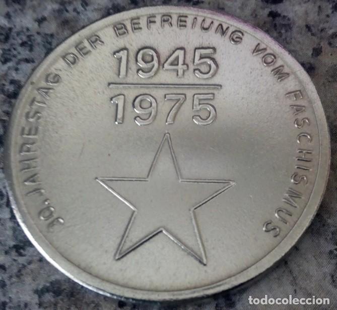 Medallas temáticas: MONEDA CONMEMORATIVA BERLIN TREPTOW A LOS 30 AÑOS DE LA LIBERACION DEL FASCISMO 1945-1975 - Foto 2 - 116587535