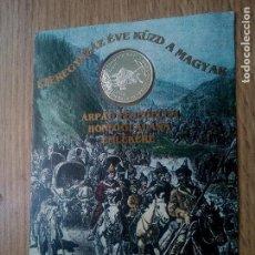 Medallas temáticas: HUNGRÍA. MEDALLA DE PLATA CONTRASTADA DE 1996. Lote 146366384