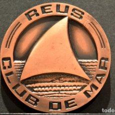 Medallas temáticas: MEDALLA EN BRONCE CLUB DE MAR REUS 1967. Lote 62893484