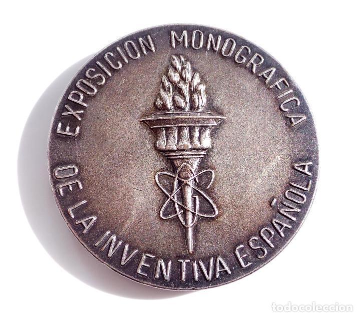 Medallas temáticas: EXPOSICIÓN MONOGRAFICA DE LA INVENTIVA ESPAÑOLA - Foto 4 - 116701287