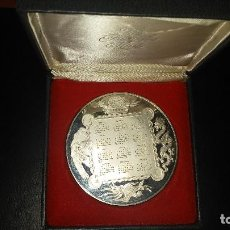 Médailles thématiques: THE FRANKLIN MINT CALENDAR MEDAL/ART 1989 - PLATA 925 - PESO 295 GR. 76 MM. DIAMETRO. Lote 116804007