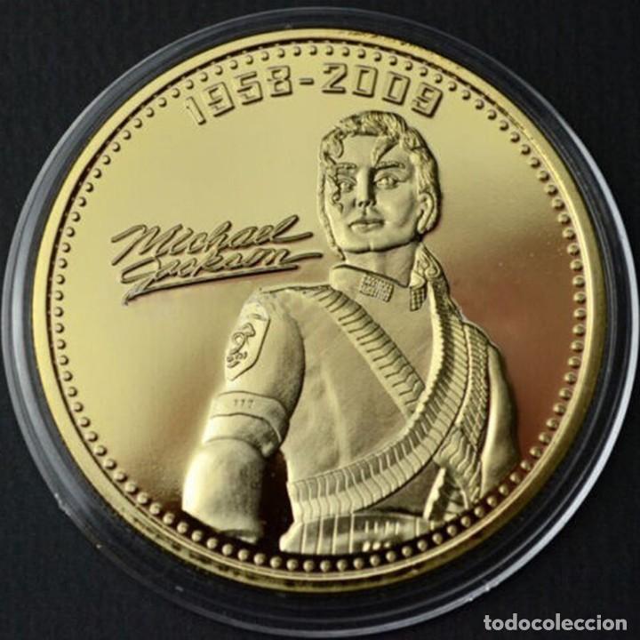 moneda oro de michael jackson con su firma y f - Comprar Medallas ...