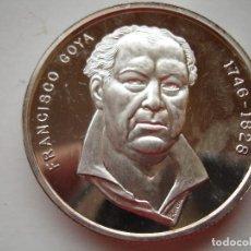 Thematic medals - FRANCISCO GOYA 2 ONZAS DE PLATA FUSILAMIENTOS 2 DE MAYO - 117077383
