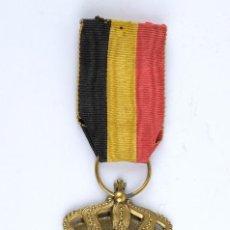 Medallas temáticas: MEDALLA ALEMANA EN METAL DORADO Y ESMALTADO PRINCIPIOS SIGLO XX. Lote 117368119