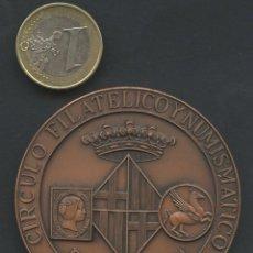 Medallas temáticas: MEDALLA, 50 ANIVERSARIO CIRCULO FILATELICO Y NUMISMÁTICO, BARCELONA, 1974, VILLAMITJANA. Lote 117715907