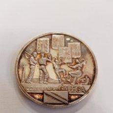 Medallas temáticas: PRECIOSA MEDALLA COMUNIDADE GALEGA EN PLATA PURA GALICIA PONTEVEDRA LUGO ORENSE PONTEVEDRA. Lote 117757592