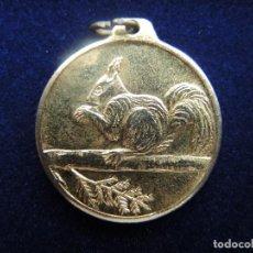 Medallas temáticas: MEDALLA ANIMAL ARDILLA, DÉCADA 1960-1970. Lote 117956571