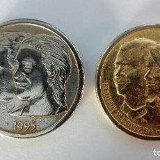 Medallas temáticas: 2 MEDALLAS DE LOS BORBONES.. Lote 118384543