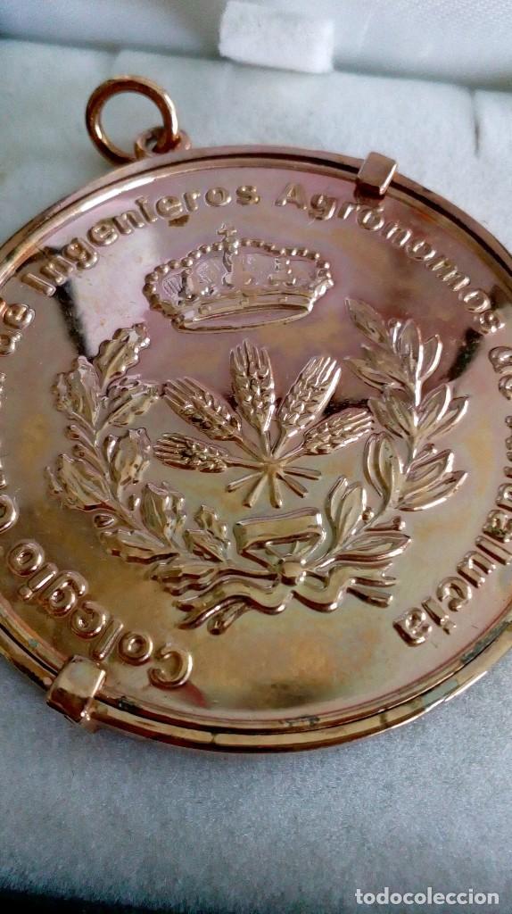 Medallas temáticas: Medalla de Colegio Oficial de Ingenieros Agrónomos de Andalucía - Foto 3 - 118753967