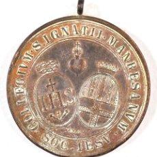 Medallas temáticas: MEDALLA COLEGIO SANT IGNACI DE MANRESA. HONORIS CAUSSA.. Lote 118856635