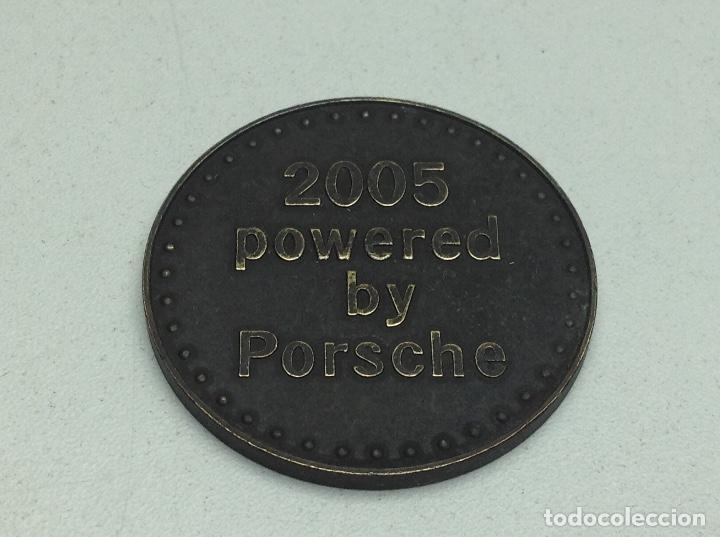 Medallas temáticas: MEDALLA PORSCHE 2005 - MEDALLA PUBLICITARIA DE AUTOMOVIL - Foto 2 - 119601503