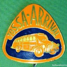 Medallas temáticas: INSIGNIA TOSSA-ARRIVAL. CON ESTUCHE. ESPAÑA. CIRCA 1940. Lote 119961779